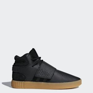 Pánske tenisky Adidas Originals Tubular Invader Strap BY3630, basketbalom inšpirovaná lifestyle obuv. Tieto retro tenisky vychádzajú z jeho dizajnu a basketbalový štýl z 80. rokov spájajú s modernými detailmi. Sú vyrobené z kombinácie kože a semišu a ich futuristický vzhľad dotvára gumená vsadená podrážka.