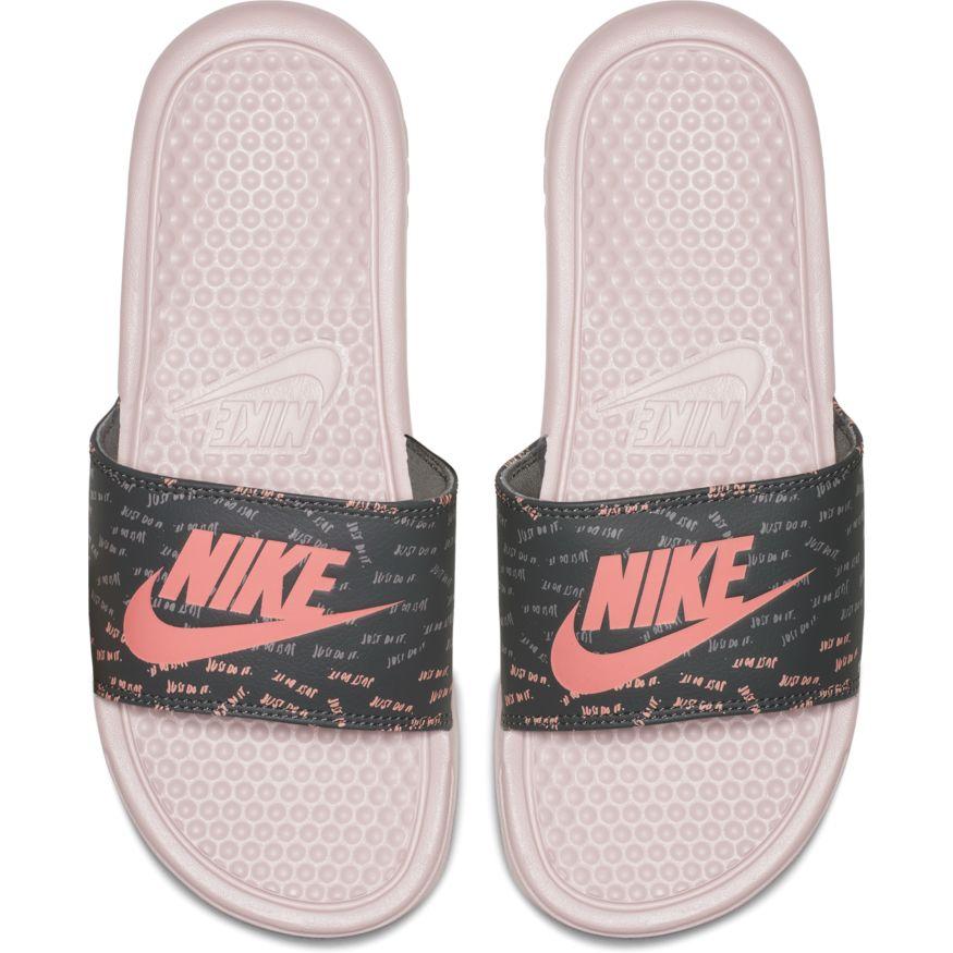 Dámske šlapky Nike Wmns Benassi JDI Print 618919 605 pohodlné dámske letné  šlapky z pružného materiálu 40c17a795ff