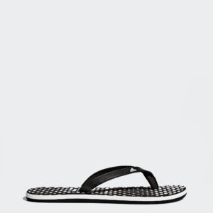 Obuv Žabky Adidas čierno/biela Eezay dots W B23738