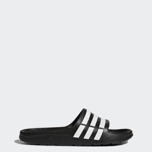 Šľapky Adidas - Duramo Slide G1589 Šlapky adidas - Duramo Slide G 1589 sú veľmi ľahké pánske papuče adidas, ktoré sú vyrobené z jedného kusu materiálu. Pohodlné a jednoduché prevedenie. Duramo Slide sú športové šľapky z kolekcie Adidas. Šľapky sú určené ako pre mužov, tak pre ženy, čo majú radi športovú a kvalitnú obuv