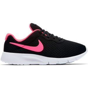 Tenisky Nike Tanjun GS 818384-061 Black Pink čiernoružové , dievčenské topánky vo výraznom modernom štýle poskytujú pružné odľahčené tlmenie.