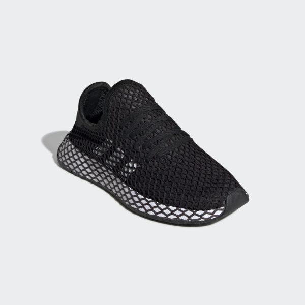 Tenisky Adidas Deerupt Runner CG6840, sieťovinové tenisky s neprehliadnuteľným mriežkovým lookom, junior nadčasová obuv prekvapí svojou ľahkosťou